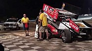 Stewart wins in first race back racing Sprint Cars