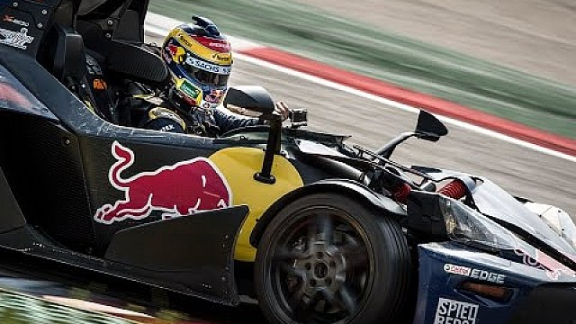 Craig Lowndes takes KTM X-Bow for a spin around Red Bull Ring