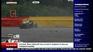 GP3 2014 Spa Konstantin Tereshchenko Practice Crash