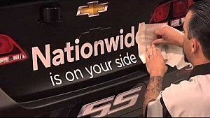 Earnhardt Jr.'s Nationwide Insurance Chevy SS gets ready to head to Richmond