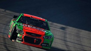 Patrick and Stenhouse collide at Chicagoland