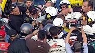 Huge brawl following NASCAR Truck race - 2008 NHMS