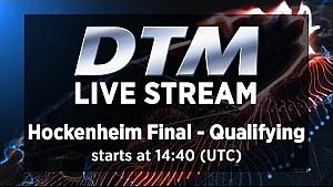 DTM Final Hocknheim 2014 - Qualifying Live