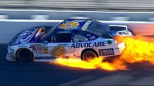 Bayne crashes hard from the lead
