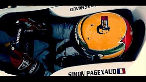 Senna Helmet Auction: Simon Pagenaud