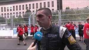 Sebastien Buemi Putrajaya ePrix post-race interview
