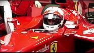 Les débuts de Vettel avec Ferrari à Fiorano