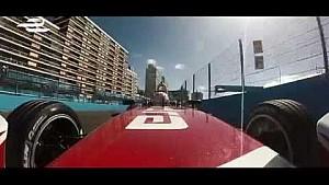 Punta del Este test Karun Chandhok onboard