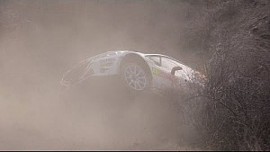 Jonathan Hirschi crashes and recovers in 3 seconds at the Rallye Monte Carlo