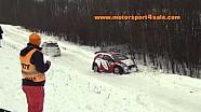 Rally de Suecia - Gran salto y choque