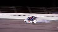 Trevor Bayne Gets Loose, Hits Wall - Budweiser Duel 1 - 2015 NASCAR Sprint Cup