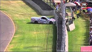 V8 Utes 2015 Adelaide Charlie Kovacs crash