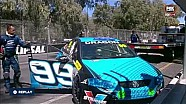 V8 Supercar Dunlop Series crash James Golding