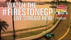 Firestone Grand Prix of St.Petersburg Race Day Warm-Up