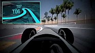 A virtual lap of the Long Beach ePrix circuit
