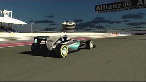 Vista previa del circuito con el Campeón del Mundo - Bahrein