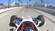 #INDYCAR In-Car Theater: Helio Castroneves Toyota Grand Prix of Long Beach Track Record