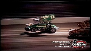 #ThrowbackThursday: World of Outlaws Sprint Cars Tri-State Speedway May 11th, 1997
