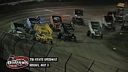 Highlights: World of Outlaws Sprint Cars Tri-State Speedway May 3rd, 2015