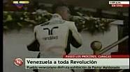 Bagno di folla per Maldonado a Caracas