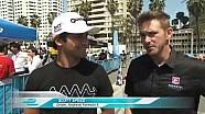 Formula E stars hit the kart track