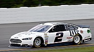 Keselowski upset with car at Pocono Raceway