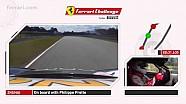 Una vuelta en Zhuhai de Philippe Prette Ferrari 458 Desafío Evo