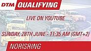 DTM Norisring 2015 - Qualifying (Race 2) - Live Stream