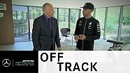 Lewis Hamilton antes de su victoria en Silverstone