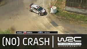 Rally Poland 2015: Kubica puncture on SS19