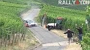 Тьерри Нёвилль избежал столкновения с трактором