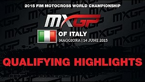 MXGP of Italy Qualifying Race Highlights 2015