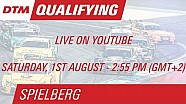 DTM - Red Bull Ring - Qualifications 1 LIVE