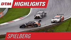 Les moments forts de la course 2 - DTM Spielberg 2015
