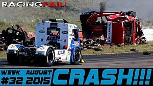 Les crashs de la semaine 32, août 2015