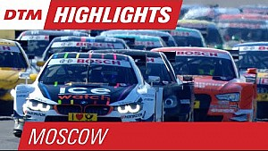 DTM на Moscow Raceway 2015 - лучшие моменты первой гонки