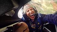 Lolo Jones Freaks Out in an Aerobatic Plane