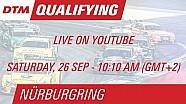 DTM Nürburgring 2015 - Qualifying (Race 1) - Livestream