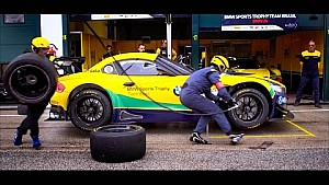 BMW Team Brazil - Pit Stop Practice - Misano Blancpain Sprint Series 2015