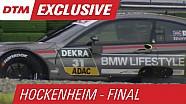 DTM Hockenheim: Blomqvist im Kies