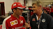 Ferrari World Finals | Exclusive interview with Marc Gene [Italian]