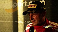 Ferrari World Finals | Top-3 entrevistas en Shell Cup Europa Race 2 en Mugello