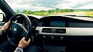 BMW M5 E60 Onboard Country Road V10 Sound Acceleration Over Take Test Drive Beschleunigung 0-