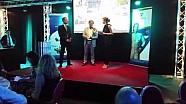 Jarno Trulli presenta lo Swiss ePrix di Lugano