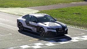 L'Audi RS 7 autonome à Hockenheim