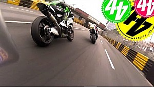 Onboard in Macau: Motorrad-Grand-Prix