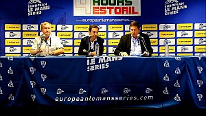 Press Conference at Estoril