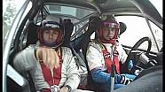 Fabaria Rally, un incidente tutto da ridere