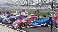 Lanzamiento Ford GT de Ganassi y Toma de la Foto del prototipo de Daytona
