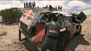 Dakar 2016: 10. Etappe, Autos und Motorräder